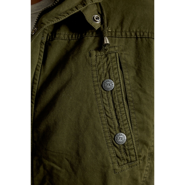 PX / Zach Long Cotton Jacket - Army Green
