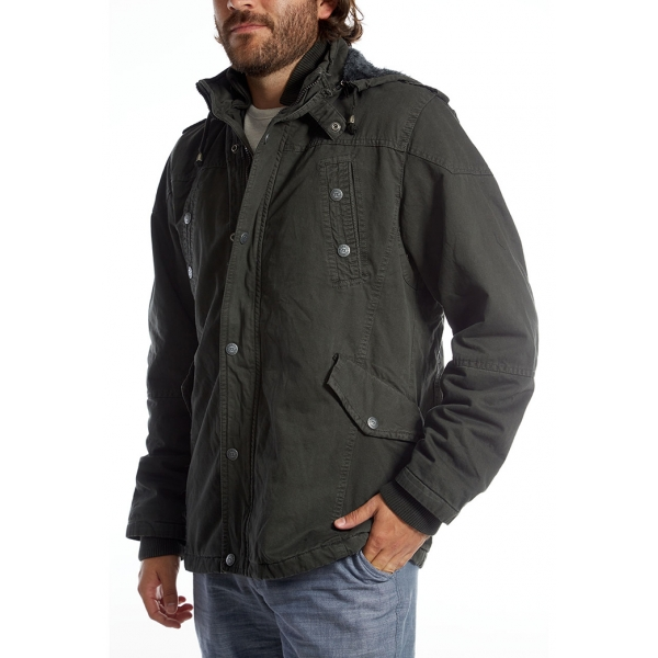 PX / Zach Long Cotton Jacket - Dark Charcoal