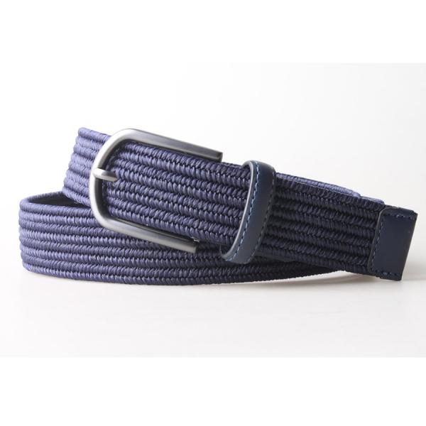 Liam Stetch 3.2 CM Belt - Navy