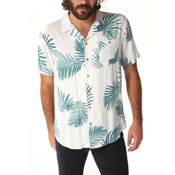 Kai Rayon Shirt - Sage