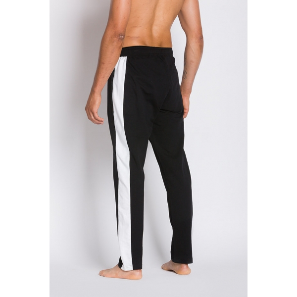 Nolan |Lt Weight French Terry Track Pant - Black