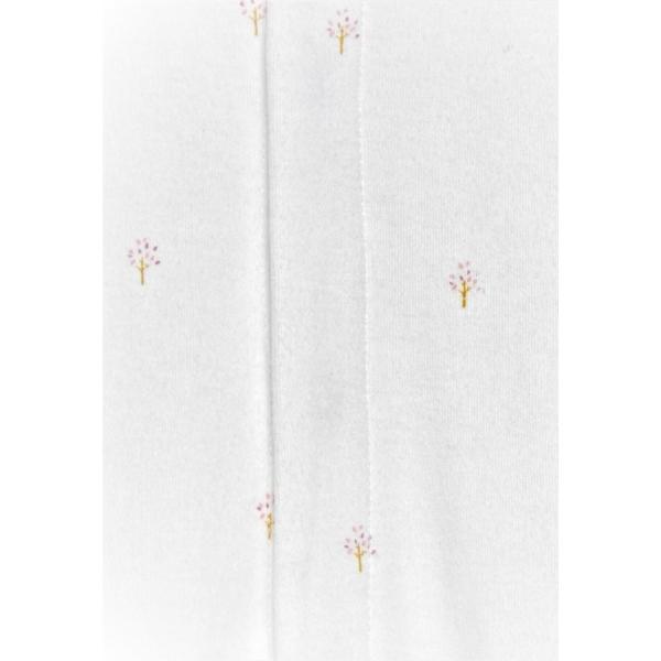 Berenice Jumpsuit - White w/Tree Print