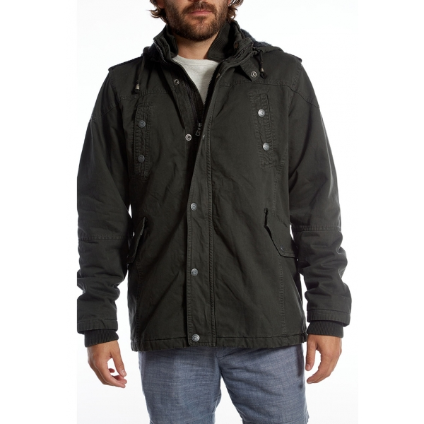 PX / Zach Long Cotton Jacket - Dark Charcoal