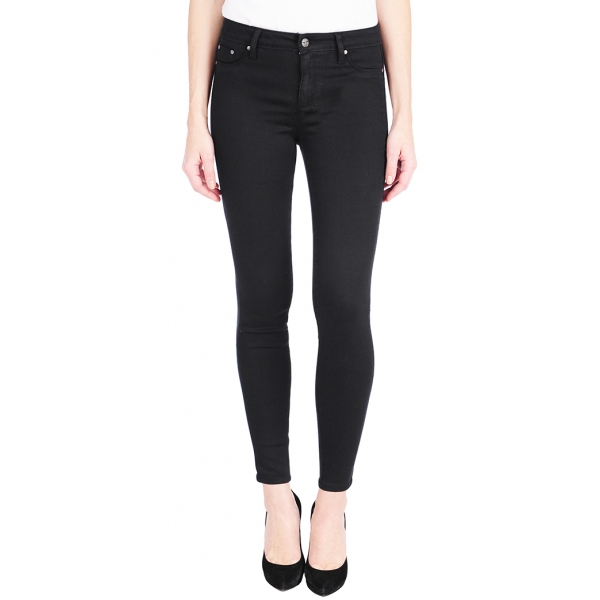 Tractr Jeans Diane mid-Rise Skinny - BLACK