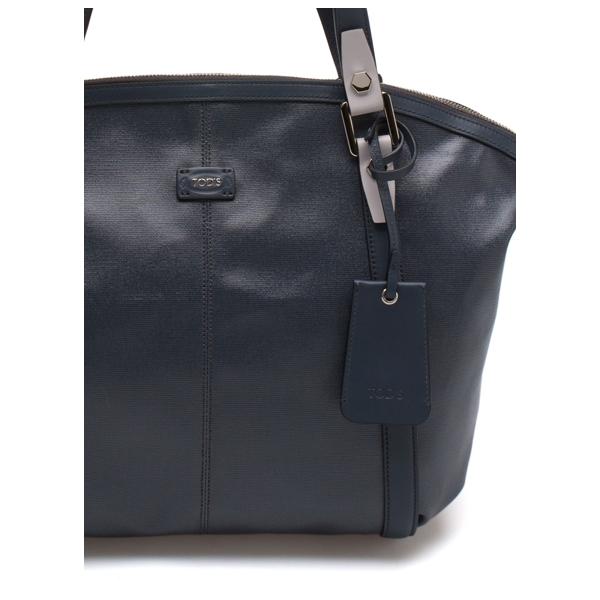 TODS / SLING SHOULDER BAG - BLUE