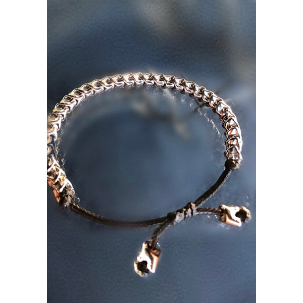 Uni-sex Serpentine Bracelet - Stainless Steel