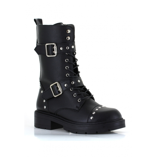 LIBERTY COMBAT BOOT  - BLACK