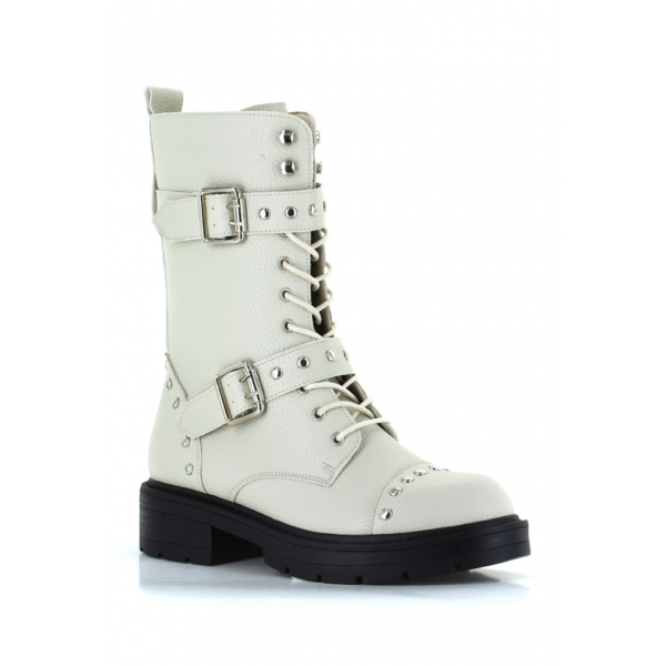 LIBERTY COMBAT BOOT  - MILK