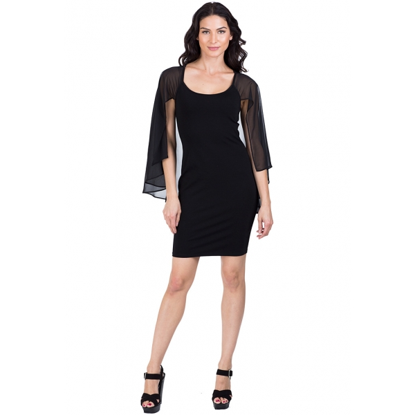 Loren Classic Black Dress