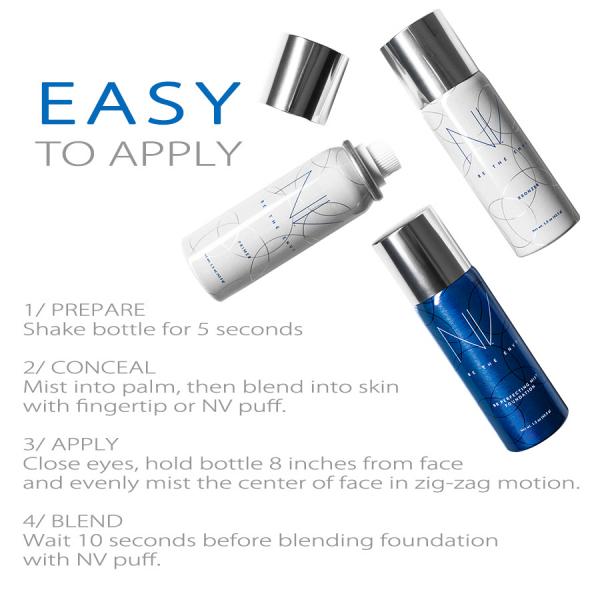 BB Perfecting Mist Foundation - W1 Warm Ivory