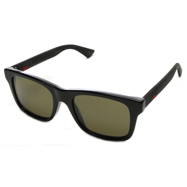 Gucci / CLASSIC SQUARED SUNGLASSES - BLACK