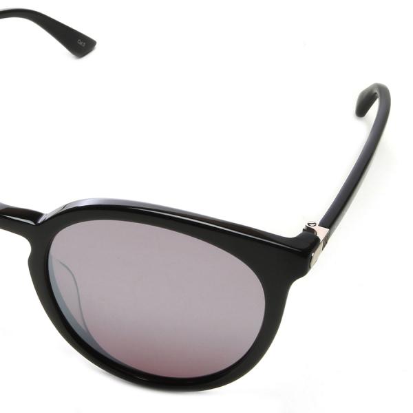 Gucci / CLASSIC ROUND SUNGLASSES - SHINY BLACK