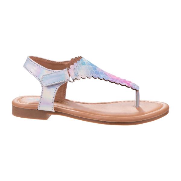 Mermaid Scale Thong style Sandal  - Multi