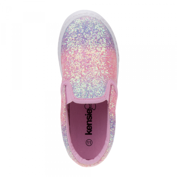 Glittery Slip-on Canvas Sneaker - Multi Glitter