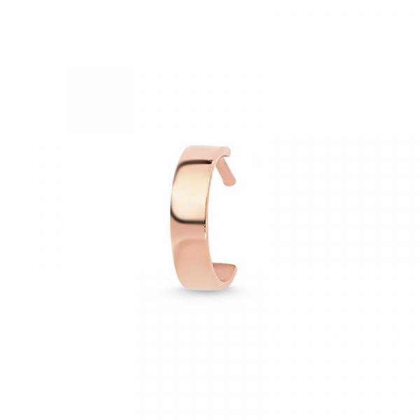 Hoop Earrings Set in Rose Gold