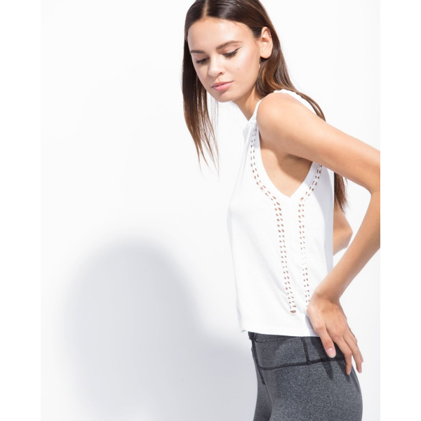 THE KNOT TANK WHITE