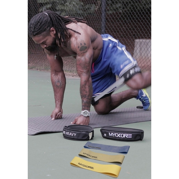 Hevia Resistance Bands SET w/Functional Sleeves