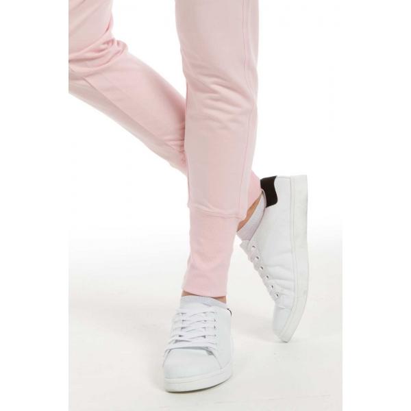 Lilac |Rib Cuffs Sweatpants - Blossom