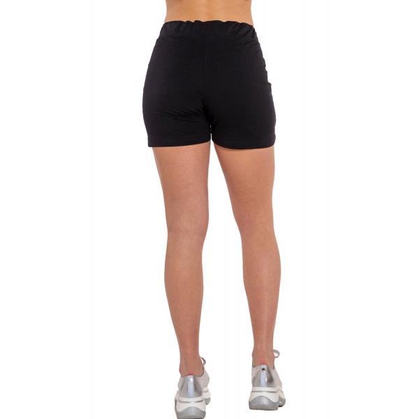 Chloe |Lightweight Terry Shorts - Black