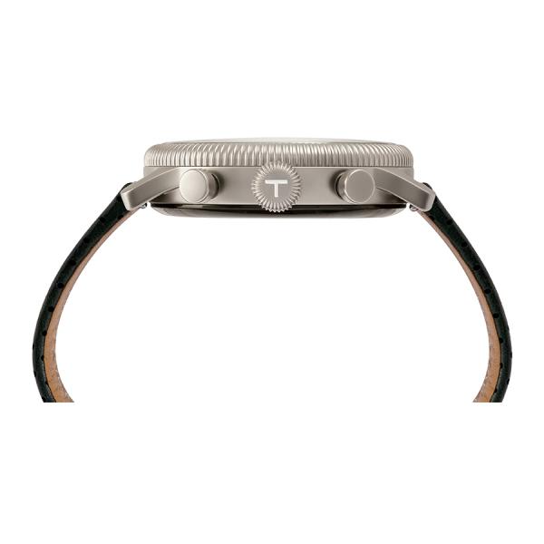 Teslar Re-Balance T-1 /Stainless Steel /Black Strap.